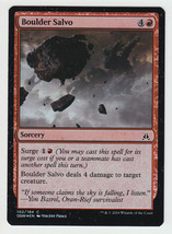 FOIL Boulder Salvo x 1, NM, Oath of the Gatewatch, Common Red, Magic the... - $0.53 CAD