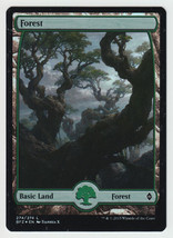 FOIL Forest (274) x 1, NM, Battle for Zendikar,  Basic Land, Magic the G... - $6.52 CAD
