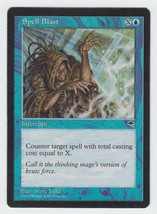 Spell Blast x 1, HP, Tempest, Common Blue, Magic the Gathering - $0.36 CAD