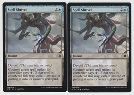 Spell Shrivel x 2, NM, Battle for Zendikar, Com... - $0.63 CAD