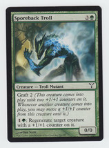 Sporeback Troll x 1, CI, Dissension, Common Green, Magic the Gathering - $0.39 CAD