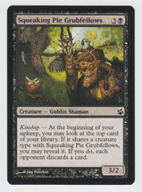 Squeaking Pie Grubfellows x 1, NM, Morningtide, Common Black, Magic the ... - $0.45 CAD