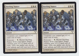 Steeling Stance x 2, LP, Dissension, Common White, Magic the Gathering - $0.51 CAD