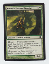 Staunch-Hearted Warrior x 1, NM, Theros, Common Green, Magic the Gathering - $0.40 CAD
