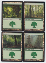 Forest x 4, NM, Magic 2010,  Basic Basic Land, Magic the Gathering - $1.10 CAD