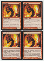 Forge Devil x 4, NM, Dark Ascension, Common Red, Magic the Gathering - $0.97 CAD