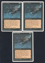 Frozen Shade x 3, LP, Fourth Edition, Common Black, Magic the Gathering - $0.80 CAD