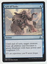 Gift of Tusks x 1, NM, Oath of the Gatewatch, Uncommon Blue, Magic the G... - $0.44 CAD