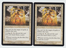 Gilded Light x 2, LP, Scourge, Uncommon White, Magic the Gathering - $0.70 CAD