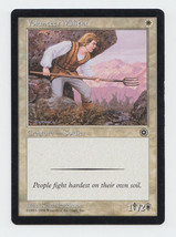 Volunteer Militia x 1, HP, Portal Second Age, Common White, Magic the Ga... - $0.36 CAD