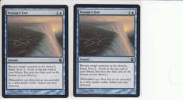 Voyage's End x 2, NM, Theros, Common Blue, Magic the Gathering - $0.62 CAD