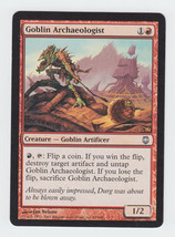 Goblin Archaeologist x 1, LP, Darksteel, Uncommon Red, Magic the Gathering - $0.42 CAD