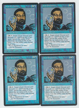 Zuran Enchanter x 4, HP, Ice Age, Common Blue, Magic the Gathering - $0.67 CAD