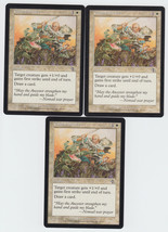 Guided Strike x 3, LP, Judgment, Common White, Magic the Gathering - $0.77 CAD