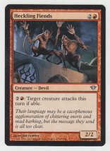 Heckling Fiends x 1, NM, Dark Ascension, Uncommon Red, Magic the Gathering - $0.41 CAD
