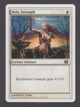 Holy Strength x 1, LP, Eighth Edition, Common White, Magic the Gathering - $0.43 CAD