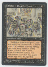 Initiates of the Ebon Hand x 1, HP, Fallen Empires, Common Black, Magic ... - $0.36 CAD