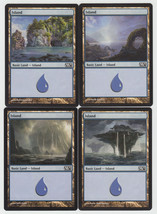 Island x 4, NM, Magic 2013,  Basic Land, Magic the Gathering - $0.86 CAD