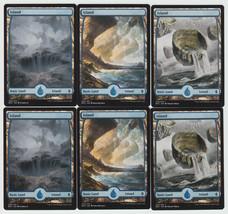 Island x 6, NM, Battle for Zendikar,  Basic Land, Magic the Gathering - $3.36 CAD