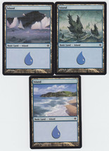 Island x 3, LP, Shards of Alara,  Basic Land, Magic the Gathering - $0.62 CAD