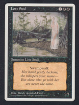 Lost Soul x 1, LP, Fourth Edition, Common Black, Magic the Gathering - $0.42 CAD