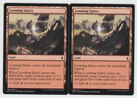 Looming Spires x 2, NM, Battle for Zendikar, Common Land, Magic the Gath... - $0.57 CAD