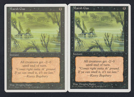 Marsh Gas x 2, LP, Fourth Edition, Common Black, Magic the Gathering - $0.57 CAD