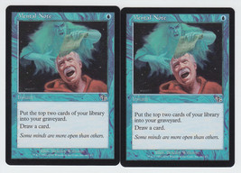 Mental Note x 2, LP, Judgment, Common Blue, Magic the Gathering - $0.61 CAD