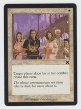 Moment of Silence x 1, LP, Mercadian Masques, Common White, Magic the Ga... - $0.42 CAD