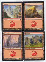 Mountain x 4, NM, Theros,  Basic Land, Magic the Gathering - $0.82 CAD