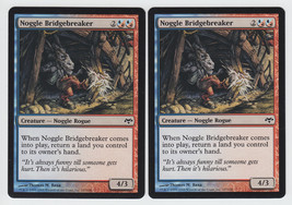 Noggle Bridgebreaker x 2, NM, Eventide, Common ... - $0.60 CAD