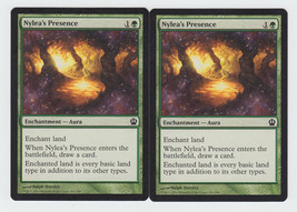 Nylea's Presence x 2, NM, Theros, Common Green, Magic the Gathering - $0.54 CAD