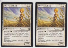 Observant Alseid x 2, NM, Theros, Common White, Magic the Gathering - $0.54 CAD