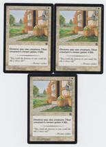 Path of Peace x 3, LP, Portal Second Age, Common White, Magic the Gathering - $0.70 CAD