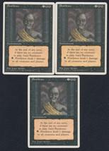 Pestilence x 3, HP, Fourth Edition, Common Black, Magic the Gathering - $0.59 CAD