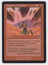 Pinpoint Avalanche x 1, LP, Onslaught, Common Red, Magic the Gathering - $0.41 CAD