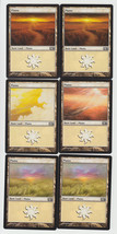 Plains x 6, NM, Magic 2013,  Basic Land, Magic the Gathering - $1.16 CAD