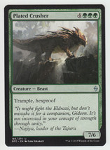 Plated Crusher x 1, NM, Battle for Zendikar, Uncommon Green, Magic the G... - $0.44 CAD