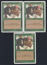 Pradesh Gypsies x 3, CI, Fourth Edition, Common Green, Magic the Gathering - $0.70 CAD