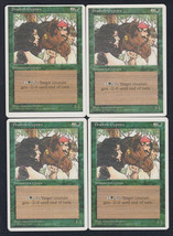 Pradesh Gypsies x 4, CI, Fourth Edition, Common Green, Magic the Gathering - $0.85 CAD