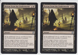 Rescue from the Underworld x 2, NM, Theros, Uncommon Black, Magic the Ga... - $0.74 CAD