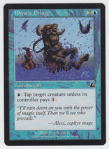 Rhystic Deluge x 1, LP, Prophecy, Common Blue, Magic the Gathering - $0.43 CAD