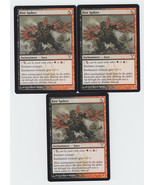 Riot Spikes x 3, LP, Dissension, Common Hybrid, Magic the Gathering - $0.65 CAD