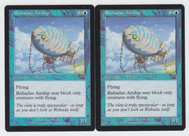 Rishadan Airship x 2, LP, Mercadian Masques, Common Blue, Magic the Gath... - $0.61 CAD