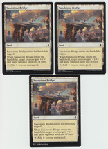 Sandstone Bridge x 3, NM, Battle for Zendikar, Common Land, Magic the Ga... - $0.71 CAD
