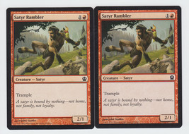 Satyr Rambler x 2, NM, Theros, Common Red, Magic the Gathering - $0.52 CAD