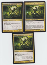 Sentry of the Underworld x 3, NM, Theros, Uncommon Multi-Colour, Magic t... - $0.75 CAD