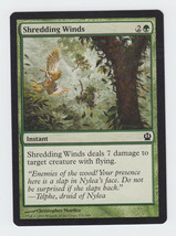 Shredding Winds x 1, NM, Theros, Common Green, Magic the Gathering - $0.39 CAD