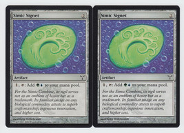 Simic Signet x 2, LP, Dissension, Common Artifact, Magic the Gathering - $0.60 CAD