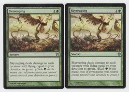 Skyreaping x 2, NM, Born of the Gods, Uncommon Green, Magic the Gathering - $0.61 CAD